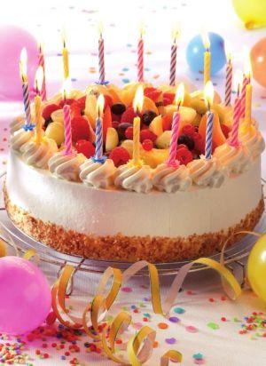 verjaardagsles rijles taart