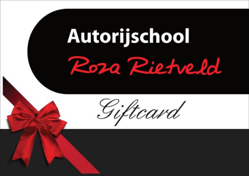 Giftcard rijles